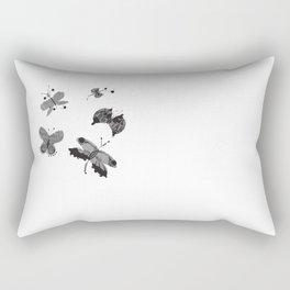 Flutter by Messages Rectangular Pillow