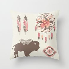 Spirit Walk Throw Pillow