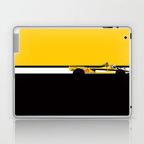 Alain Prost, Renault RE30, 1981 Laptop & iPad Skin