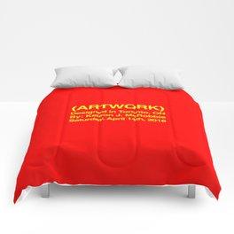(ARTWORK) Red Comforters