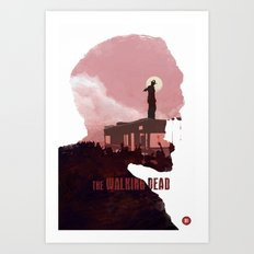The Walking Dead - Season 1 Art Print