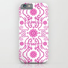 Hot Pink Lace iPhone 6s Slim Case