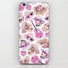 Joanne Vibes iPhone & iPod Skin