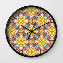 Lemonade Sunshine Wall Clock