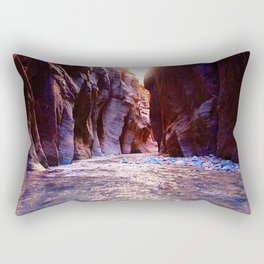 The Zion Narrows Rectangular Pillow