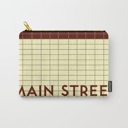 MAIN STREET | Subway Station Carry-All Pouch