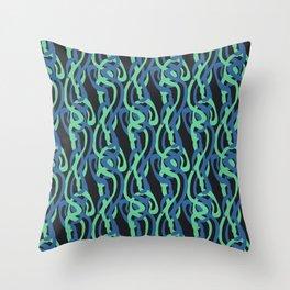 Sinuous Pattern Throw Pillow
