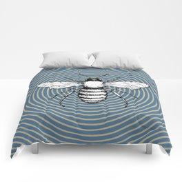Pop Art  Bee Comforters
