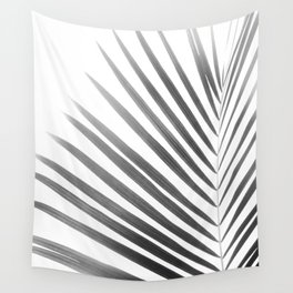 Palm Leaf | Black and White Wall Tapestry