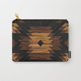 Urban Tribal Pattern No.7 - Aztec - Wood Carry-All Pouch
