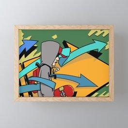 Keep Moving Forward Framed Mini Art Print