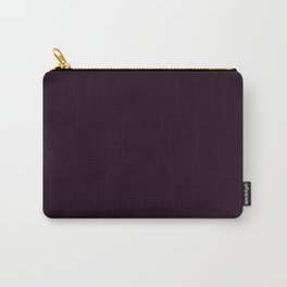 Simply Deep Eggplant Purple Carry-All Pouch