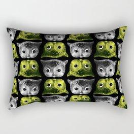 Creepy Owls Rectangular Pillow