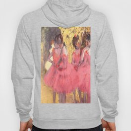 The Pink Dancers Before the Ballet Hoody