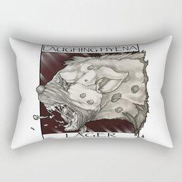 GMDs Laughing Hyena Lager Rectangular Pillow
