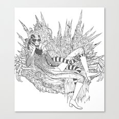 Spidery Throne Canvas Print