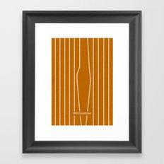 Prison Break Framed Art Print