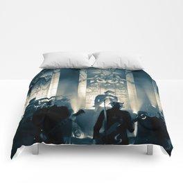 He is. Comforters
