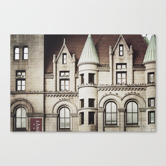 Life on the Ledge Canvas Print