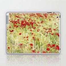 Windy poppies Laptop & iPad Skin