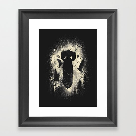 Bombs Away Framed Art Print