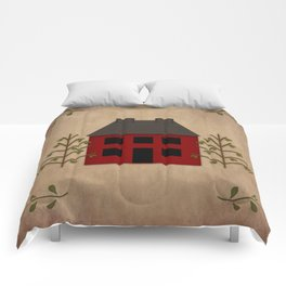 Primitive Country House Comforters