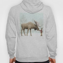 Winter Moose Hoody