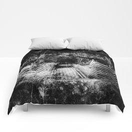 Creepy Runoff Drain Comforters