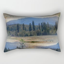 In the Valley... Rectangular Pillow