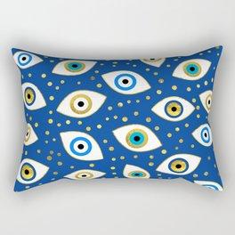 Nazar Eye Amulet pattern #3 Rectangular Pillow