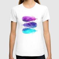 purple T-shirts featuring The Sound by Jacqueline Maldonado