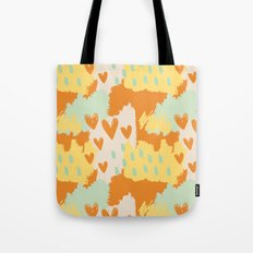 Abstract Art - When My Heart Comes Tote Bag