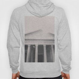 The Pantheon, fine art print, black & white photo, Rome photography, Italy lover, Roman history Hoody