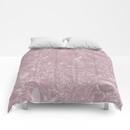 Rose marble Comforters