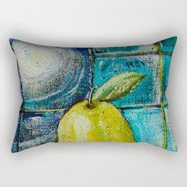 Moon Pear Rectangular Pillow