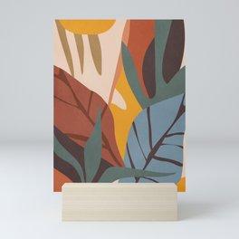 Abstract Art Jungle Mini Art Print