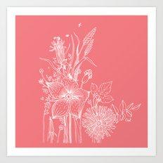 out garden Art Print
