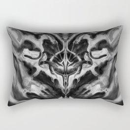 Abstract Anomaly [Noir] Rectangular Pillow