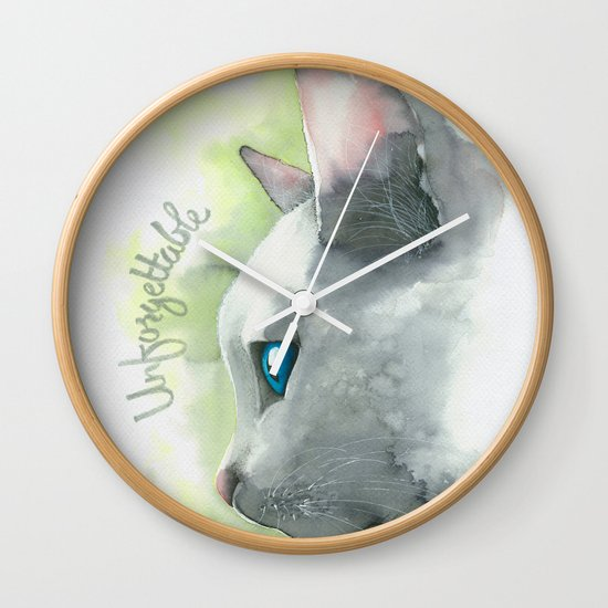 Unforgettable Wall Clock