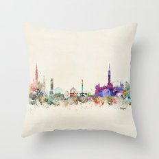 glasgow scotland Throw Pillow