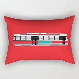 Toronto TTC Streetcar Rectangular Pillow