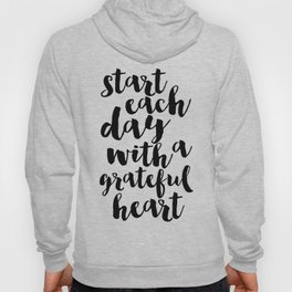 Thankful Sign Inspirational Print Printable Art Follow Your Heart Follow Your Dreams Give Thanks Hoody