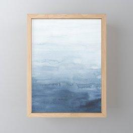 Indigo Abstract Painting | No. 5 Framed Mini Art Print