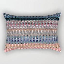 Contemporary Tribal Micropattern Rectangular Pillow