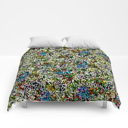 Colorful Abstract Patterns Comforters