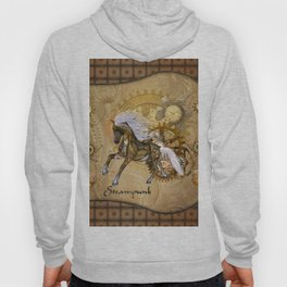 Wonderful steampunk horse with white mane Hoody
