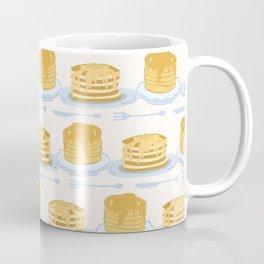Cute vector homemade pancake day breakfast illustration Coffee Mug