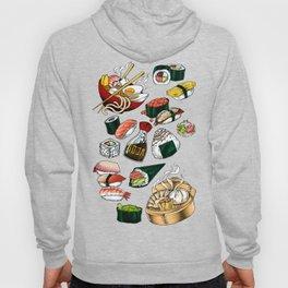 Sushi White Hoody