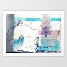 Lost & Found Art Print