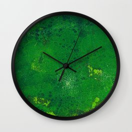 Abstract No. 488 Wall Clock